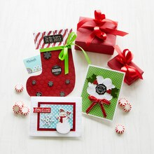 Christmas Card Stocking Gift Card Holder, medium