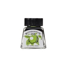 Winsor & Newton Drawing Ink, Apple Green