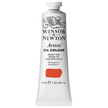 Winsor & Newton Artists, Oil Colour, 37ml Bright Red