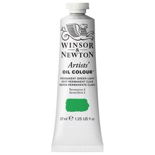 Winsor & Newton Artists Oil Colour, 37ml Permanent Green Light