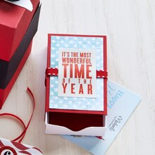 Christmas Paper Matchbox Gift Card Holder, medium