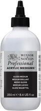Winsor & Newton Professional Acrylic Medium, Gloss Medium - 250ml