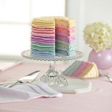 Bright Pastel Colors 5-Layer Cake, medium