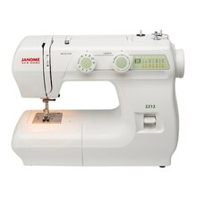 Janome 2212 Mechanical Sewing Machine, Front View