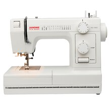 Janome HD-1000 Heavy Duty Sewing Machine, Front View