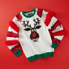 Bling Your Ugly Christmas Sweater, medium