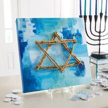 Star of David Art, medium