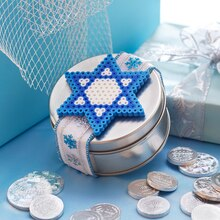 Kids' Perler® Star of David Gift Tin, medium