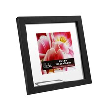 "Black Float Frame by Studio Decor®, 8"" x 8"""