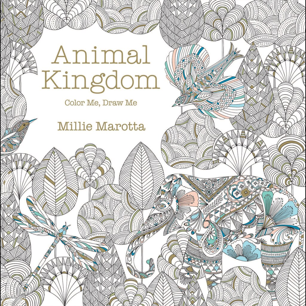 Coloring book animal kingdom - View All