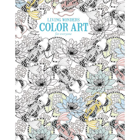 living wonders color art for everyone - Michaels Coloring Books