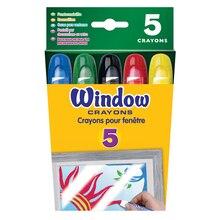 Crayola Window Crayons, 5 Count Pack