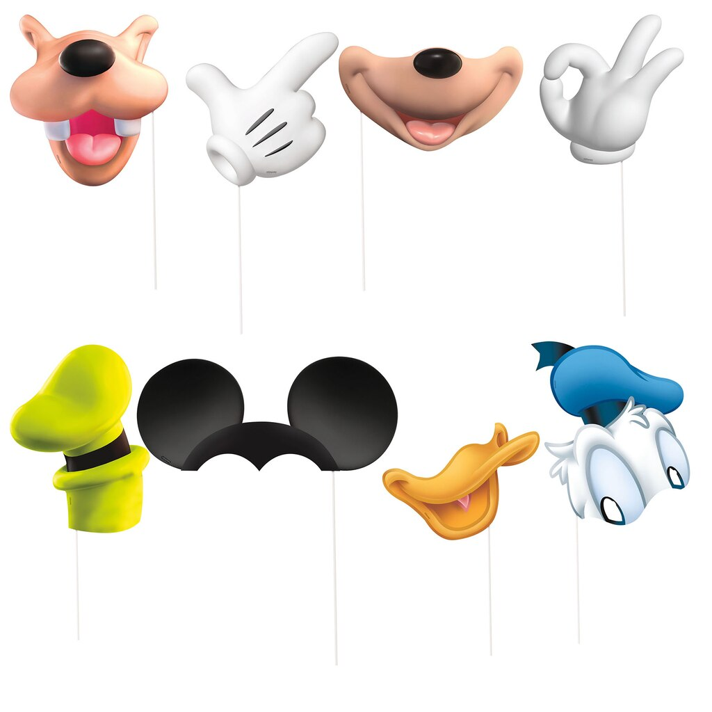 Mickey Mouse Photo Booth Props | Mickey Mouse Party Supplies