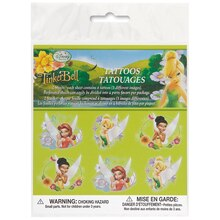 Disney™ Fairies Tattoo Sheets, 2ct