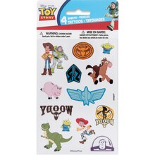Toy Story Tattoo Sheets, 4ct