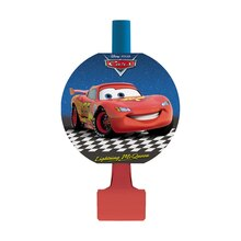 Disney Cars Party Blowers, 8ct