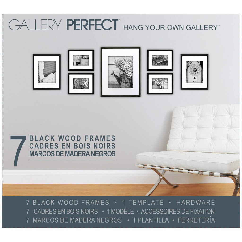 Gallery Perfect™ Hang Your Own Gallery, Black