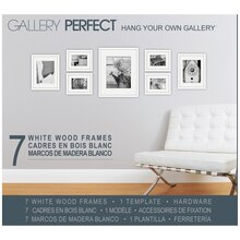 Gallery Perfect Hang Your Own Gallery, White