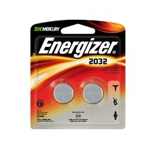 Energizer Lithium Coin Battery, 2 piece