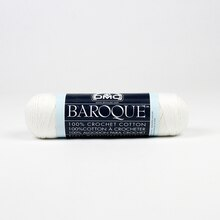 DMC Baroque Crochet Cotton, White