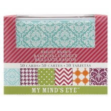 My Mind's Eye Box of Cards, Bright Basics