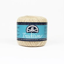 DMC Traditions Crochet Cotton, Ecru