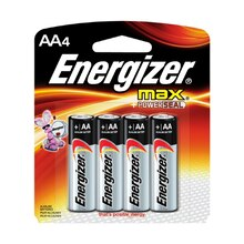 Energizer® MAX AA Household Batteries, 4 Pack