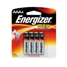 Energizer MAX Batteries AAA, 4 Pack