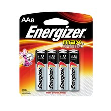 Energizer MAX AA Household Batteries, 8 Pack