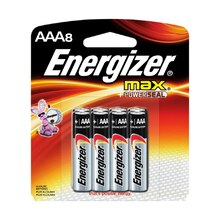 Energizer MAX AAA Household Batteries, 8 Pack