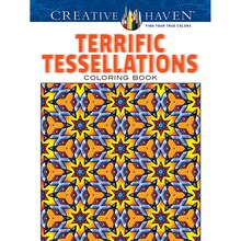 creative haven terrific tessellations coloring book - Creative Haven Coloring Books