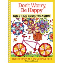 Don't Worry, Be Happy Coloring Book Treasury