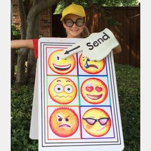 Emoji Halloween Costume, medium