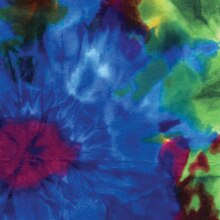 Tie Dye Printed Felt by Creatology