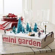 Merry Miniatures Garden Tray, medium