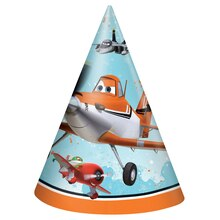 Disney Planes Party Hats, 8ct