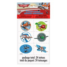 Disney Planes Tattoos, 24ct