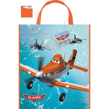 "Large Plastic Disney Planes Favor Bag, 13"" x 11"""