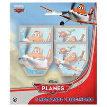 Disney Planes Notepads, 4ct