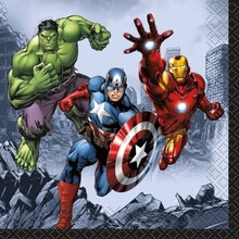 Avengers Beverage Napkins, 16ct