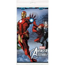 "Plastic Avengers Table Cover, 84"" x 54"""
