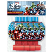 Avengers Party Blowers, 8ct