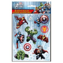 Avengers Sticker Sheets, 4ct