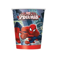 9oz Spiderman Paper Cups, 8ct