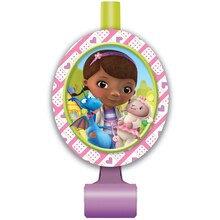 Doc McStuffins Party Blowers, 8ct