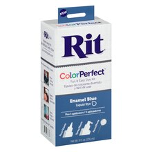 Rit Color Perfect Liquid Dye, Enamel Blue