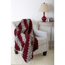 Bernat® Blanket™ Diagonal Blocks Crochet Blanket, medium