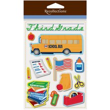 Third Grade Stickers by Recollections