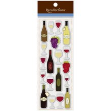 Wine Bottle Stickers by Recollections