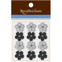 Adhesive Flower Embellishments by Recollections